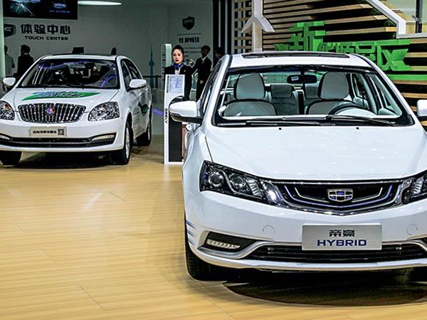 hybrid Пекинский автосалон показал новые модели, концепт-кары и гибриды
