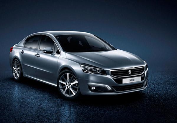 Имидж седана Peugeot 508 будет изменен