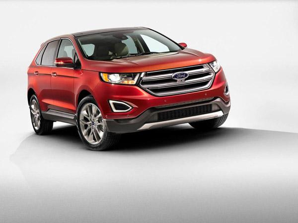 Представлен кроссовер нового поколения Ford Edge