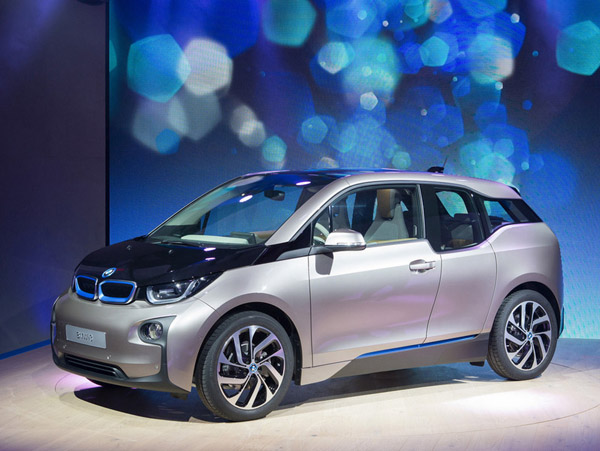 BMW переводит электромобиль i3 на водород