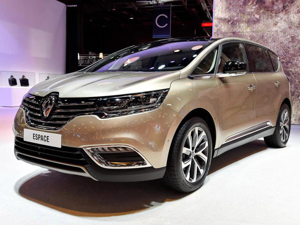 В Париже представлен Renault Espace нового поколения