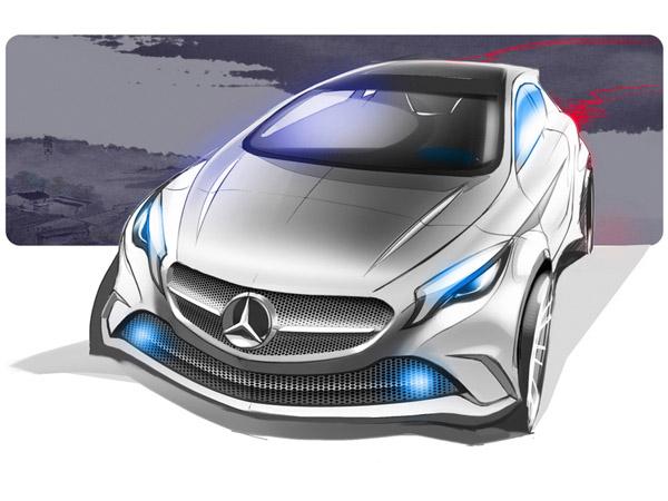 В январе Mercedes-Benz покажет «беспилотный» автомобиль