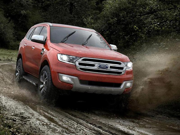 Представлен внедорожник Ford Everest