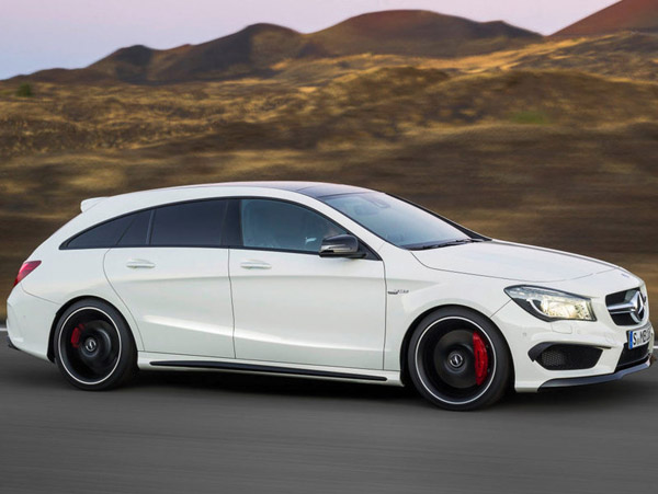 Представлен универсал Mercedes-Benz CLA Shooting Brake