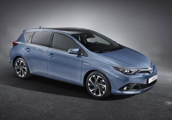 В Женеве Toyota покажет обновленный Auris
