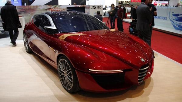 Летом покажут новый седан Alfa Romeo