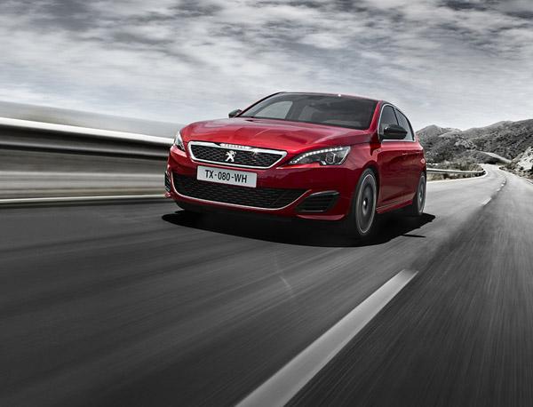 Peugeot официально представил «заряженный» хэтчбек 308 GTi