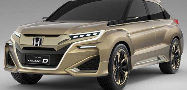 В апреле Honda покажет свой новый кроссовер